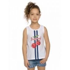 Майка для девочки Pelican GFVV3120 белая