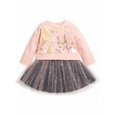 GFDJ1785 Платье для девочек Pelican, розовое