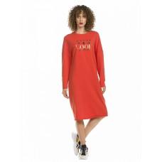 DFDJ6801 Платье женское Pelican, оранжевое