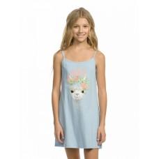 Ночная сорочка для девочки Pelican WFDN4180U голубая