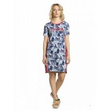 DFDT6768 Платье женское Pelican, синее