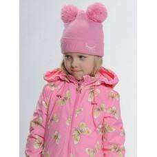 Шапка для девочки Pelican GKQ3109/1 розовая