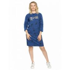 Платье женское Pelican DFDJ6810 темно-синее
