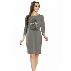 PFDJ6780 Платье женское Pelican, темно-серое