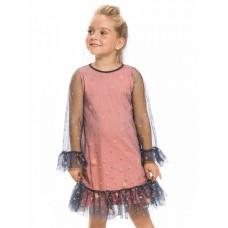 Платье для девочки Pelican GFDJ3154/1 серое