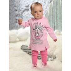GFAJL1148 Комплект для девочек Pelican, розовый