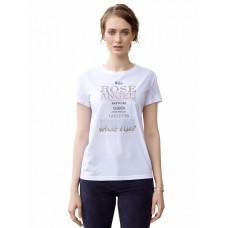 """Джемпер (модель """"футболка"""") женский Pelican DFT6661 белая"""