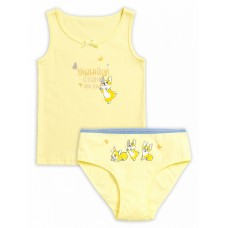 GUAVL3181 Комплект для девочек Pelican, желтый