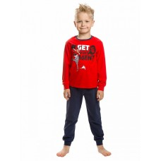 NFAJP3141U Пижама для мальчиков Pelican, красная