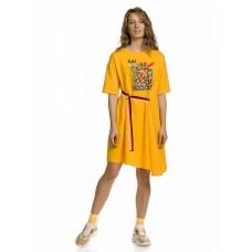 DFDT6802 Платье женское Pelican, желтое