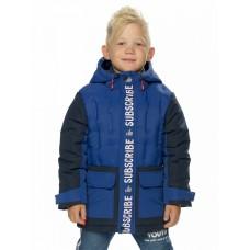 Куртка для мальчика Pelican BZXL3194 синяя