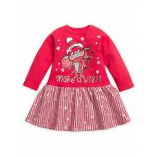 GFDJ1786 Платье для девочек Pelican, красное