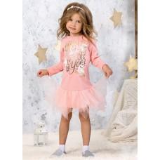 GFDJ3041 Платье для девочек Pelican, персиковое