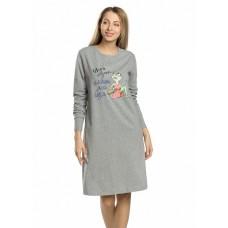 Платье женское Pelican PFDJ6744 серое