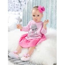 GFDJ1148 Платье для девочек Pelican, розовое