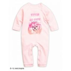 Комбинезон для девочки Pelican GFRJ1165 розовый