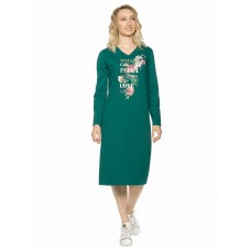 Платье женское Pelican DFDJ6807 изумрудное