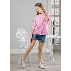 Блузка для девочки Pelican GWCJ4050 розовая