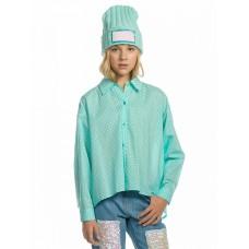 GWCJ4158 Блузка для девочек Pelican, ментол