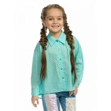 GWCJ3158 Блузка для девочек Pelican, ментол