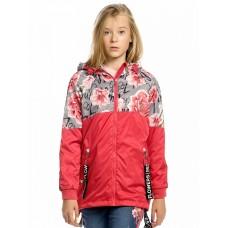 Ветровка для девочки Pelican GZIM4157 красная