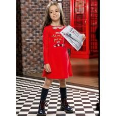 GFDJ3079 Платье для девочек Pelican, красное