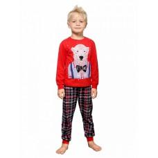 NFAJP3156U Пижама для мальчиков Pelican, красная