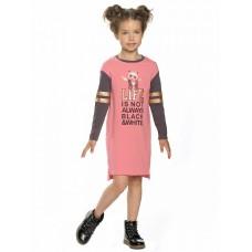 Платье для девочки Pelican GFDJ3136 розовое